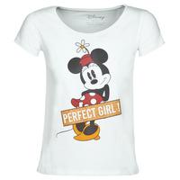 Υφασμάτινα Γυναίκα T-shirt με κοντά μανίκια Moony Mood MINNIE PERFECT GIRL Άσπρο