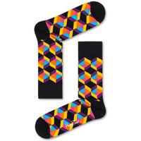 Αξεσουάρ Άνδρας Κάλτσες Happy Socks Optiq square sock Πολύχρωμο