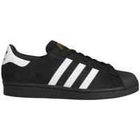 Παπούτσια Άνδρας Skate Παπούτσια adidas Originals Superstar adv Μαύρο