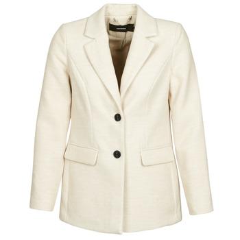 Υφασμάτινα Γυναίκα Παλτό Vero Moda VMCALA Άσπρο