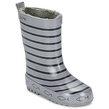 Παπούτσια Παιδί Μπότες βροχής Be Only TIMOUSS Grey / Marine