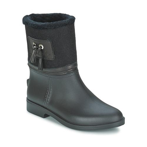 Παπούτσια Γυναίκα Μπότες βροχής Be Only DIVINE Black
