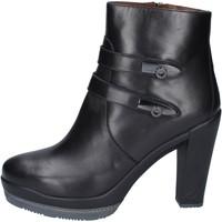 Παπούτσια Γυναίκα Μποτίνια Guardiani Μπότες αστραγάλου BN363 Μαύρος