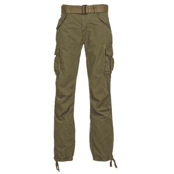 Υφασμάτινα Άνδρας παντελόνι παραλλαγής Schott BATTLE KAKI