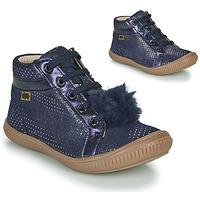 Παπούτσια Κορίτσι Ψηλά Sneakers GBB ISAURE Μπλέ
