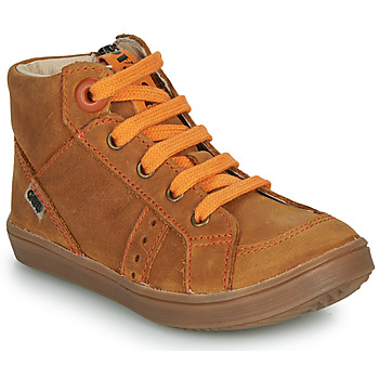 Παπούτσια Αγόρι Ψηλά Sneakers GBB ANGELITO Brown