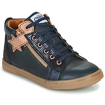 Παπούτσια Κορίτσι Ψηλά Sneakers GBB VALA Marine / Ροζ