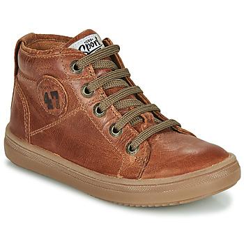 Παπούτσια Αγόρι Ψηλά Sneakers GBB KELIG Brown