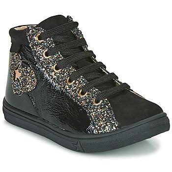 Παπούτσια Κορίτσι Ψηλά Sneakers GBB MARTA Black
