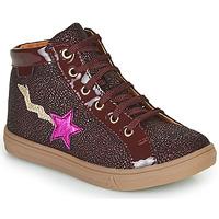 Παπούτσια Κορίτσι Ψηλά Sneakers GBB TADEA Bordeaux