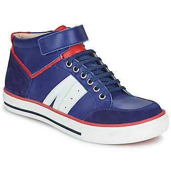 Παπούτσια Αγόρι Ψηλά Sneakers GBB ALIMO Μπλέ