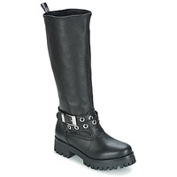 Παπούτσια Γυναίκα Μπότες για την πόλη Love Moschino GROGI Black