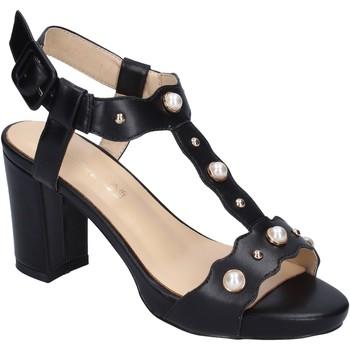 Παπούτσια Γυναίκα Σανδάλια / Πέδιλα Brigitte sandali pelle sintetica Nero