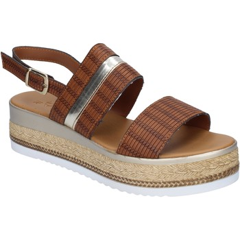 Παπούτσια Γυναίκα Σανδάλια / Πέδιλα Sara sandali pelle sintetica Marrone