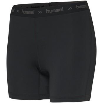 Υφασμάτινα Γυναίκα Σόρτς / Βερμούδες Hummel Short femme  Perofmance Hipster noir