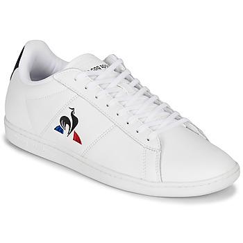 Παπούτσια Άνδρας Χαμηλά Sneakers Le Coq Sportif COURTSET Άσπρο / Marine