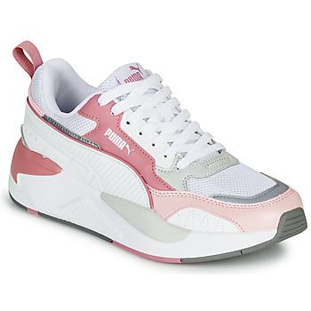 Παπούτσια Γυναίκα Χαμηλά Sneakers Puma X-RAY 2 Άσπρο / Ροζ