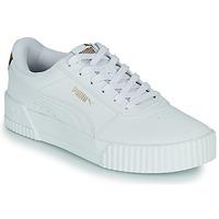 Παπούτσια Γυναίκα Χαμηλά Sneakers Puma CARINA Άσπρο / Leopard