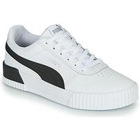 Παπούτσια Γυναίκα Χαμηλά Sneakers Puma CARINA Άσπρο / Black