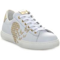 Παπούτσια Κορίτσι Χαμηλά Sneakers NeroGiardini NERO GIARDINI 707 CILE BIANCO Bianco