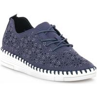 Παπούτσια Γυναίκα Χαμηλά Sneakers Grunland BLU F6VIVY Blu