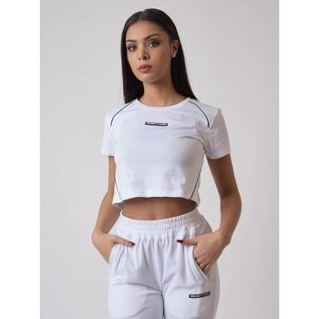 Υφασμάτινα Γυναίκα T-shirt με κοντά μανίκια Project X Paris  Άσπρο