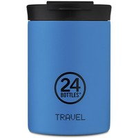 beauty Αξεσουάρ σώματος 24 Bottles TRAVEL TUMBLER 350 Azzurro