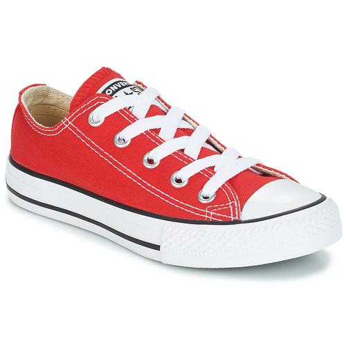 Παπούτσια Παιδί Χαμηλά Sneakers Converse CHUCK TAYLOR ALL STAR CORE OX Red