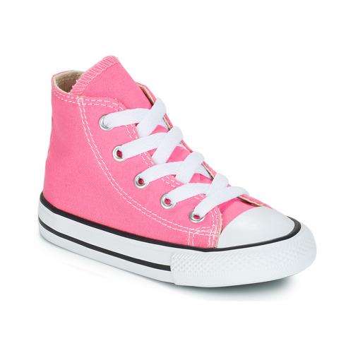 Παπούτσια Παιδί Ψηλά Sneakers Converse CHUCK TAYLOR ALL STAR CORE HI ροζ