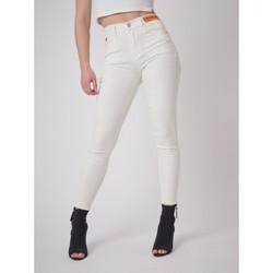 Υφασμάτινα Γυναίκα Skinny jeans Project X Paris  Άσπρο
