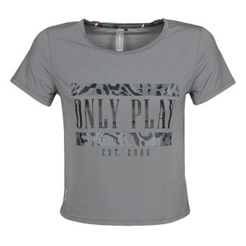 Υφασμάτινα Γυναίκα T-shirt με κοντά μανίκια Only Play  Grey