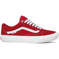 Παπούτσια Άνδρας Skate Παπούτσια Vans Old skool pro Κόκκινο