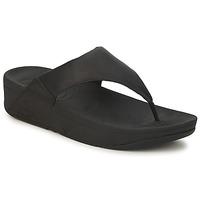 Παπούτσια Γυναίκα Σαγιονάρες FitFlop LULU LEATHER Black