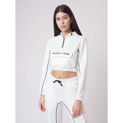 Υφασμάτινα Γυναίκα Φούτερ Project X Paris  Άσπρο