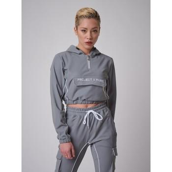 Υφασμάτινα Γυναίκα Φούτερ Project X Paris  Grey