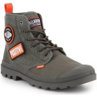 Παπούτσια Άνδρας Ψηλά Sneakers Palladium Pampa HI Change U 76648-325-M olive green