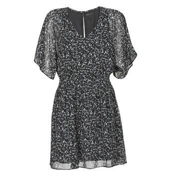 Υφασμάτινα Γυναίκα Κοντά Φορέματα Ikks BR30075 Black