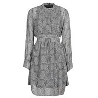 Υφασμάτινα Γυναίκα Κοντά Φορέματα Ikks BR30165 Grey
