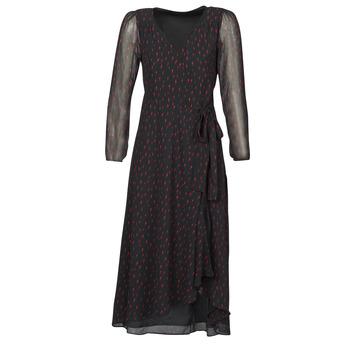 Υφασμάτινα Γυναίκα Μακριά Φορέματα Ikks BR30225 Black