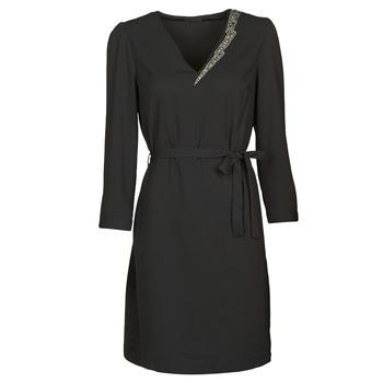 Υφασμάτινα Γυναίκα Κοντά Φορέματα Ikks BR30265 Black