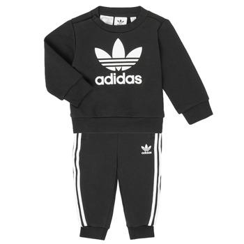 Υφασμάτινα Παιδί Σετ adidas Originals CREW SET Black