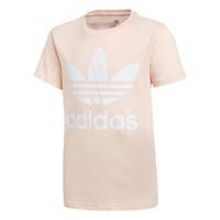 Υφασμάτινα Κορίτσι T-shirt με κοντά μανίκια adidas Originals TREFOIL TEE Ροζ