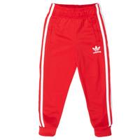 Υφασμάτινα Παιδί Φόρμες adidas Originals SST TRACKPANT Red