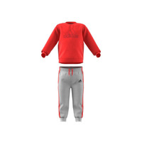 Υφασμάτινα Παιδί Σετ adidas Performance MH LOG JOG FL Red / Grey