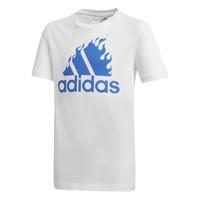 Υφασμάτινα Αγόρι T-shirt με κοντά μανίκια adidas Performance JB BOS GRAPH Άσπρο