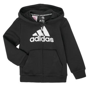 Υφασμάτινα Αγόρι Φούτερ adidas Performance B MH BOS FZ FL Black