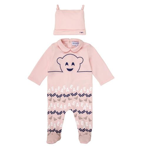 Υφασμάτινα Κορίτσι Πιτζάμα/Νυχτικό Emporio Armani 6HHV08-4J3IZ-0355 Ροζ