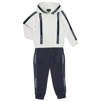 Υφασμάτινα Αγόρι Σετ από φόρμες Emporio Armani 6H4V02-1JDSZ-0101 Marine / Άσπρο