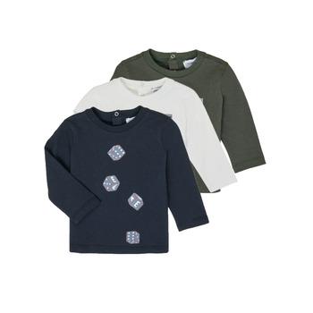 Υφασμάτινα Αγόρι Μπλουζάκια με μακριά μανίκια Emporio Armani 6HHD21-4J09Z-0564 Multicolour
