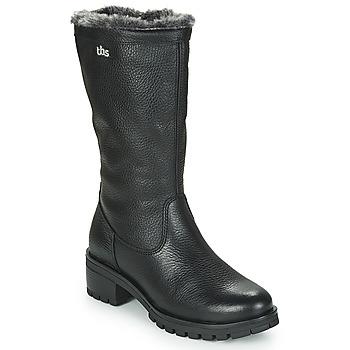 Παπούτσια Γυναίκα Μπότες για την πόλη TBS PHILINA Black
